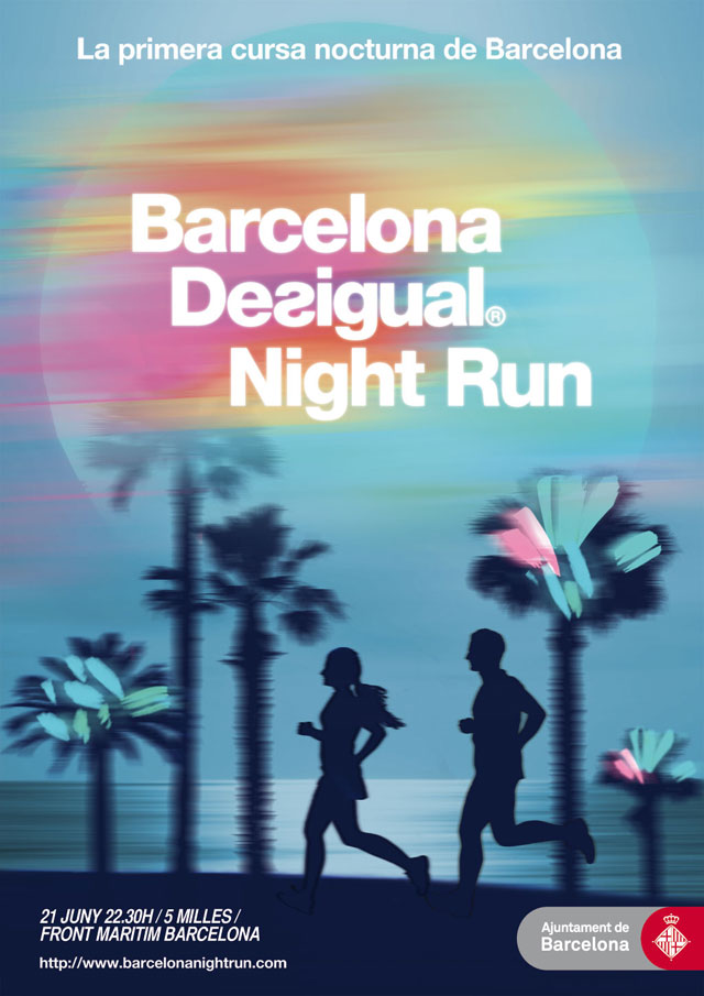 Desigual Night Run cartel