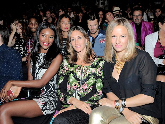 Front Row Desigual New York