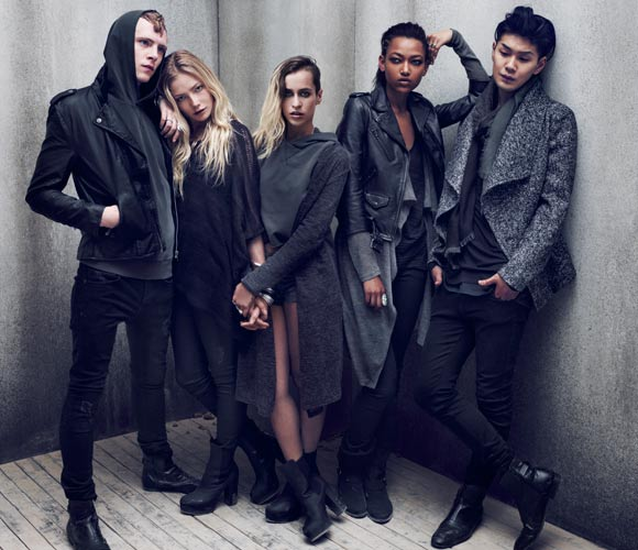 The Grey Concept, el lado mas rockero de la firma H&M