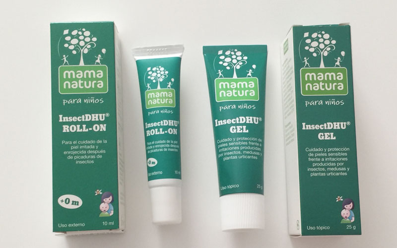 InsectDhu de Mama Natura Gel y Roll-On