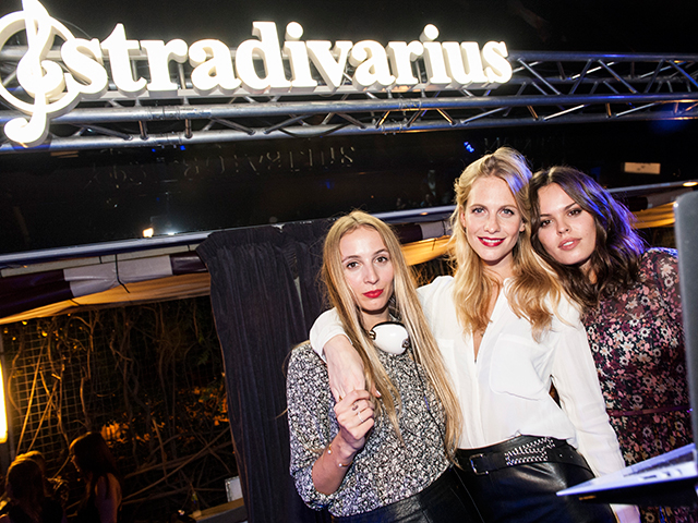 The Event Paper, la fiesta de Stradivarius en Barcelona